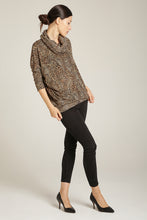 Load image into Gallery viewer, Leopard Knit Top