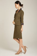 Load image into Gallery viewer, AYSHA Blazer Olive Green