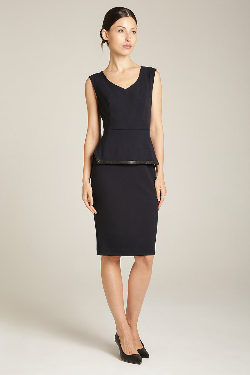 Ivy Dress Navy Blue