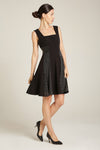 Tiffany Dress Black & Gold