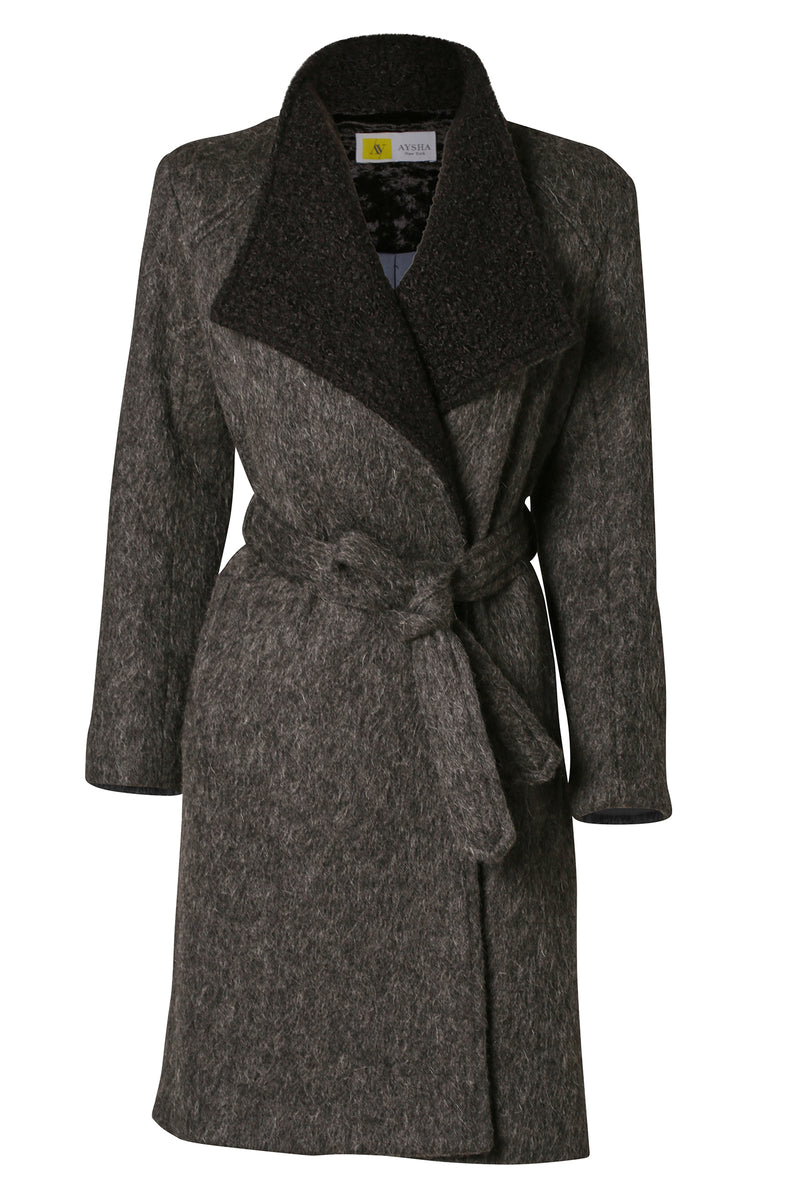Custom Made Coat: Charcoal