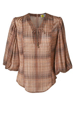 Tammy Blouse Rust