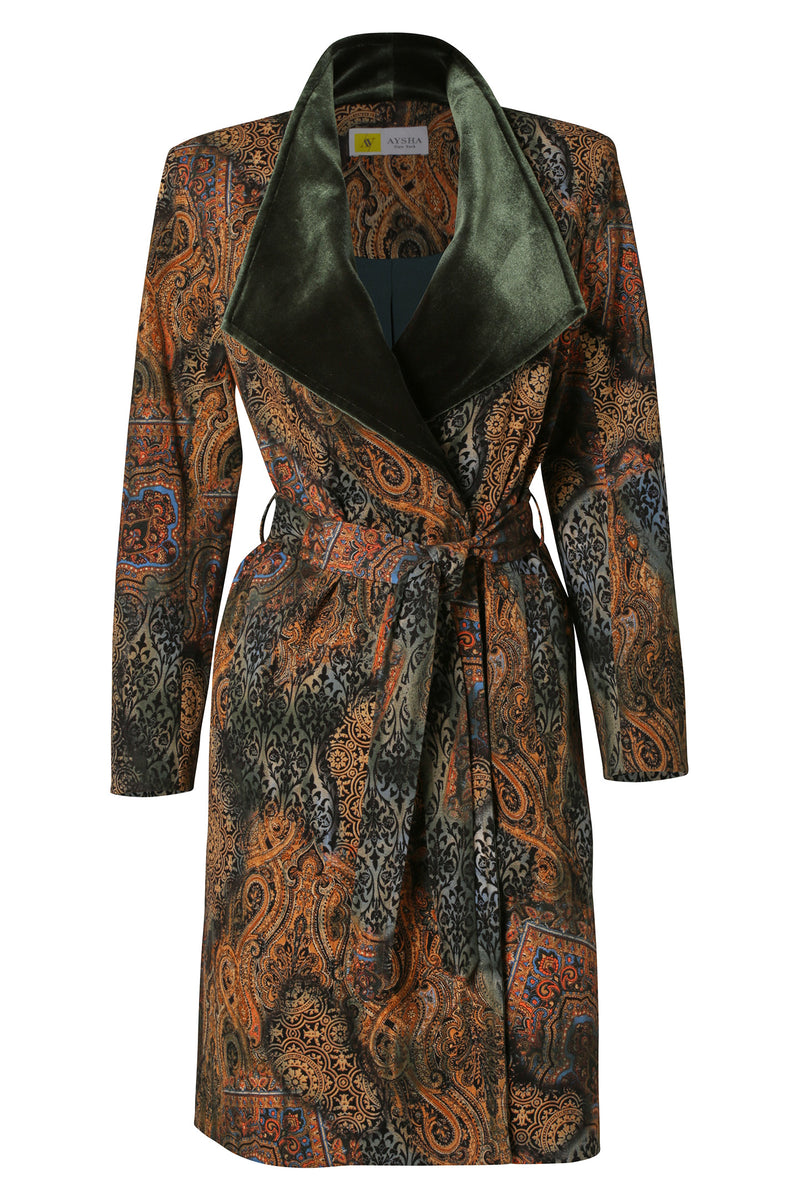 Custom Made: Printed Trench Coat