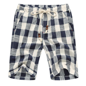 Shorts Light Plaid Voyager