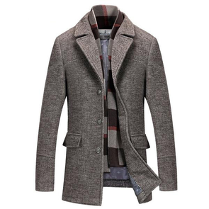 Hurley Wool Trench Coat