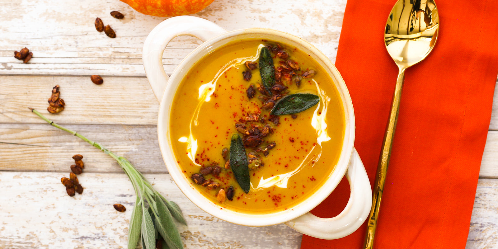 Decadent Pumpkin Soup