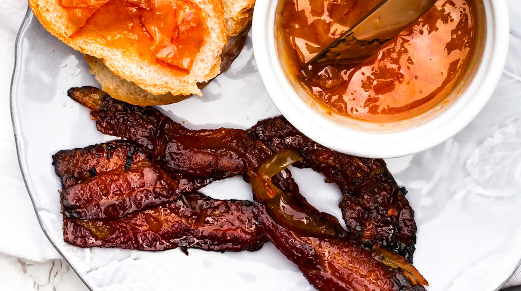Bourbon Blood Orange Bacon Recipe