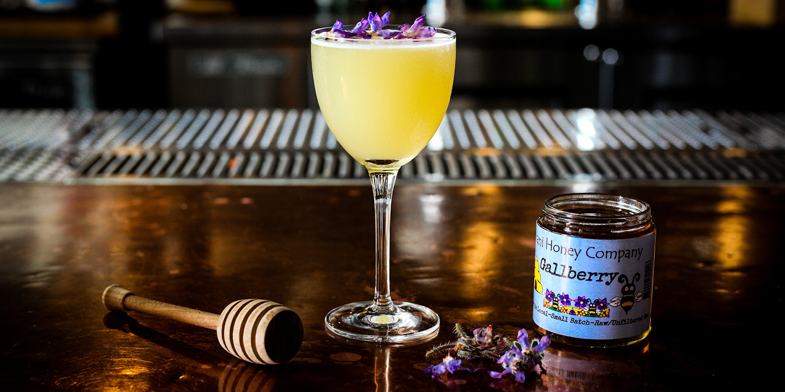 The Gallberry Bees Knees Cocktail