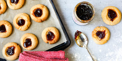 Ancient Grain Thumbprint Cookies