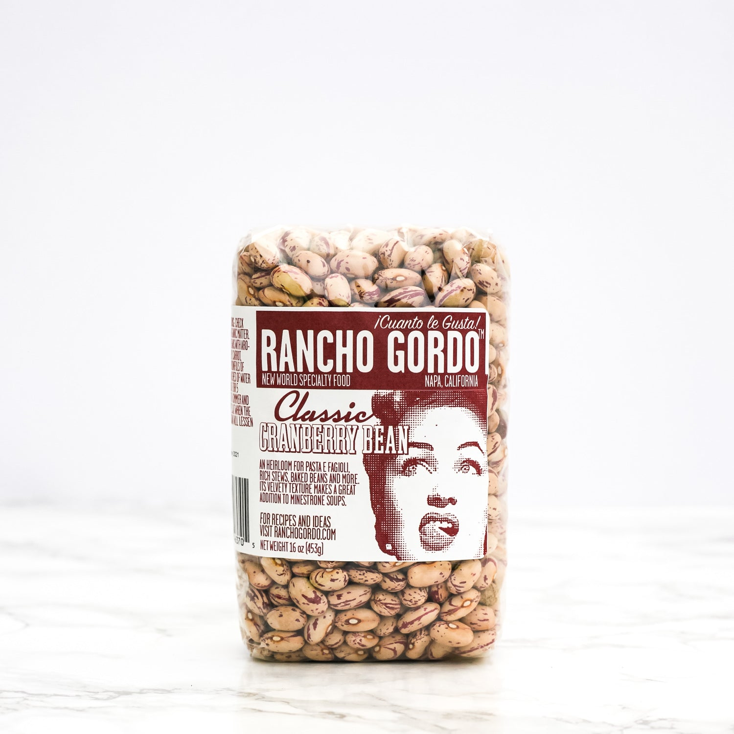 Rancho Gordo - Cranberry Bean - The Foodocracy