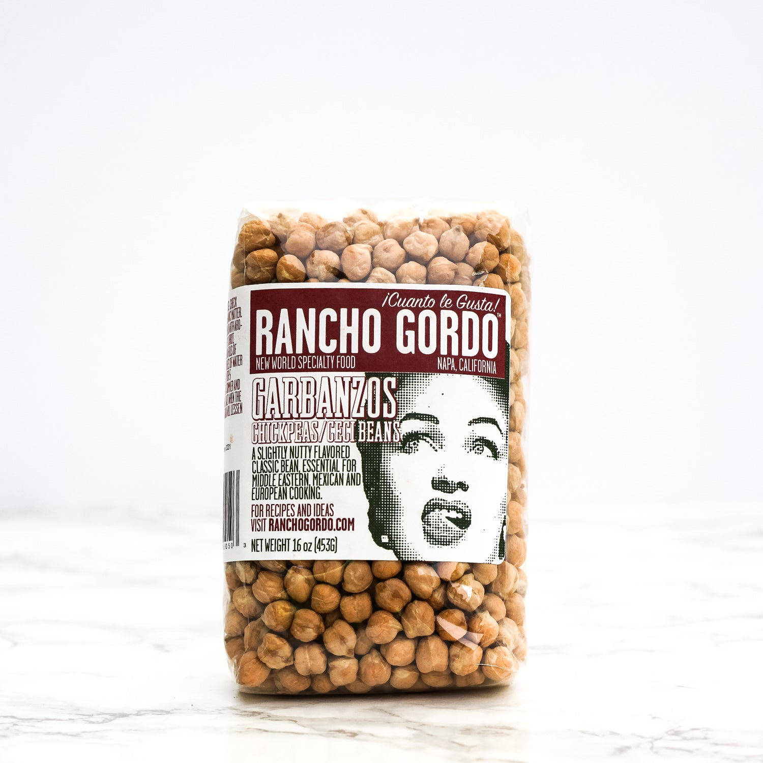 Rancho Gordo - Garbanzo Beans (Chickpea) - The Foodocracy
