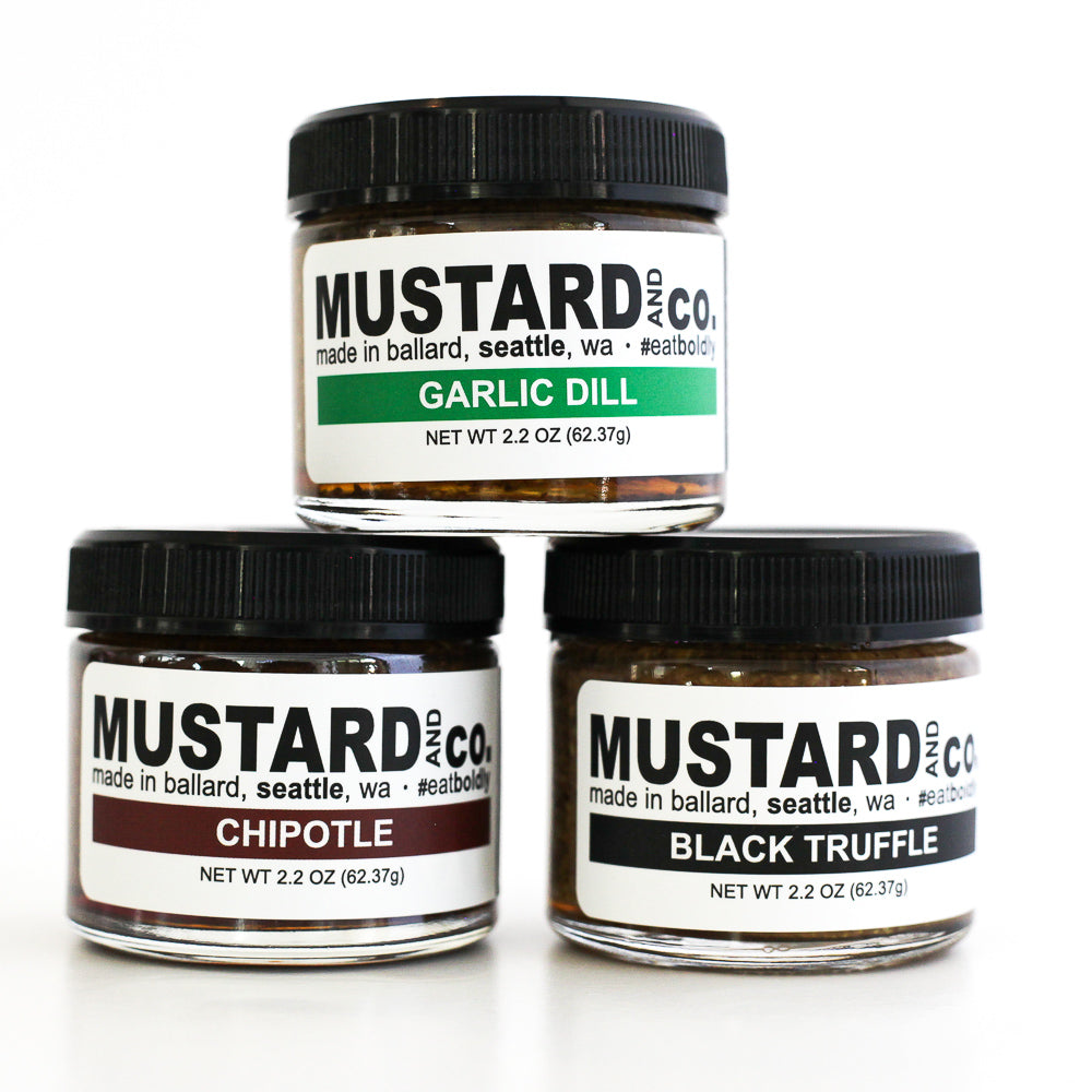 Artisanal Mustard Tasting Set - The Foodocracy