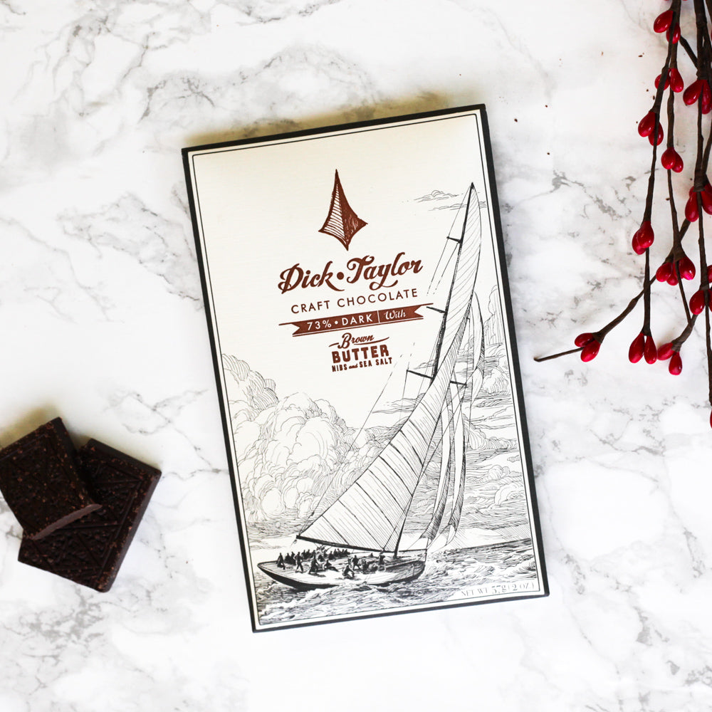 Dick Taylor Chocolate - Brown Butter With Nibs & Sea Salt - The Foodocracy