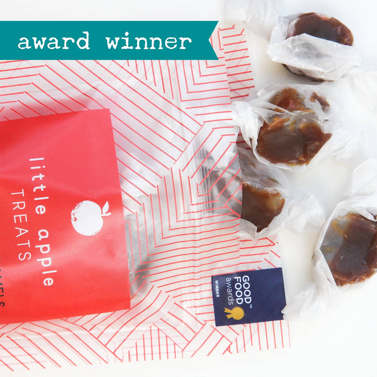 Apple Cider Caramels with Toasted Almonds (Treat Pack) - The Foodocracy