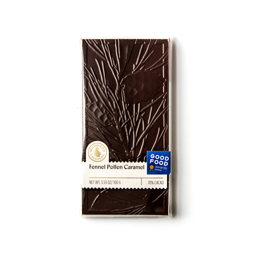 Fennel Pollen Caramel Chocolate Bar - The Foodocracy