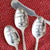 Hand Stamped Spoons and Spreaders - The Foodocracy