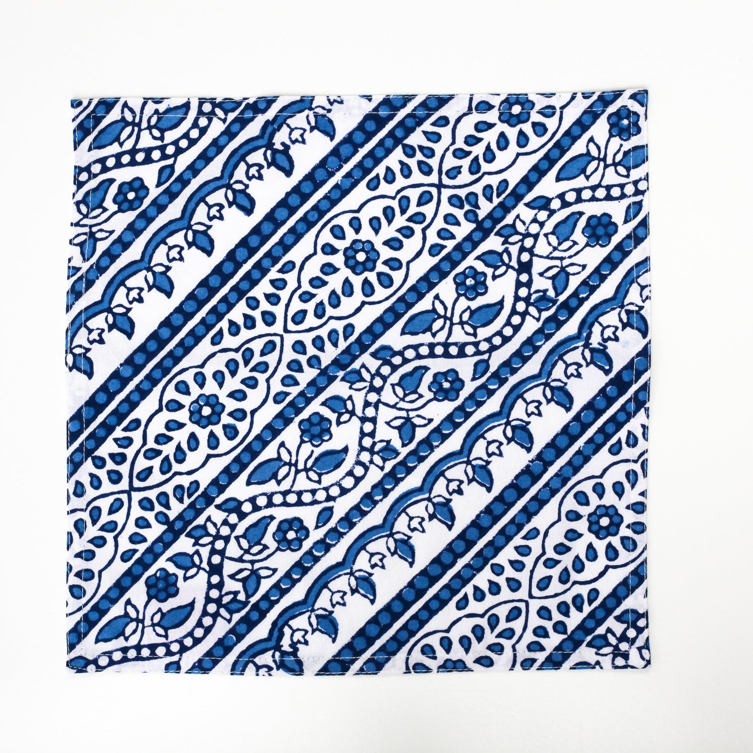 Handmade Blockprint Cocktail Napkins - The Foodocracy