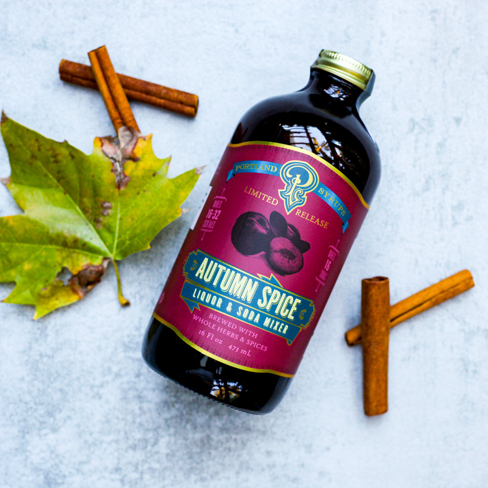 Autumn Spice Syrup - The Foodocracy