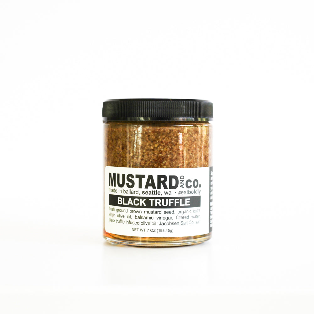 Black Truffle Mustard - The Foodocracy