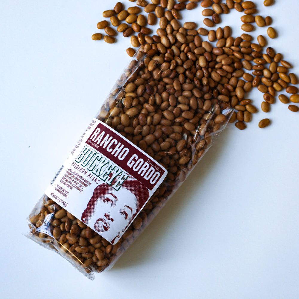 Rancho Gordo Buckeye Heirloom Beans - The Foodocracy