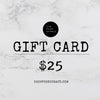 Digital Gift Card - The Foodocracy