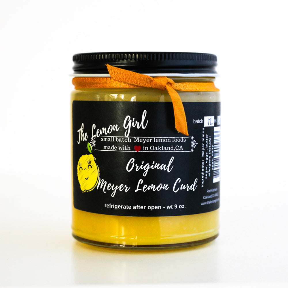 Meyer lemon Curd - The Foodocracy