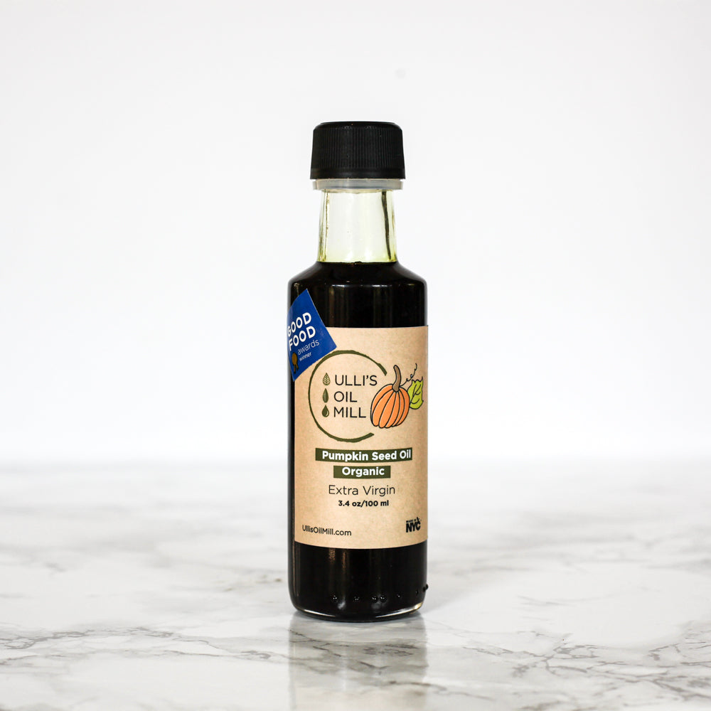 Organic Cold Pressed Pumpkin Seed Oil - The Foodocracy