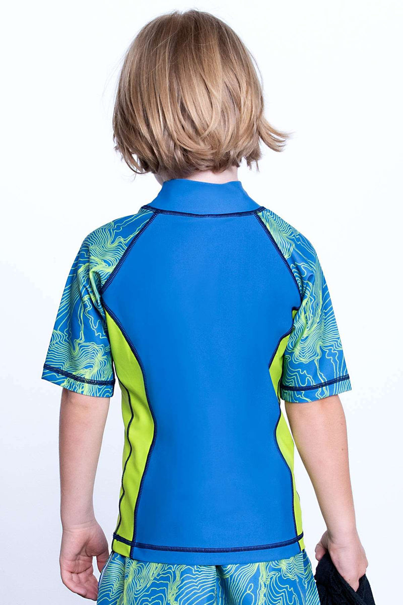 COEGA Boys Kids Rashguard - Short Sleeve