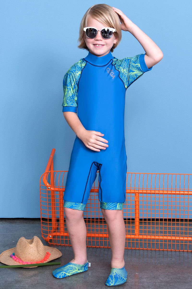 COEGA Boys Kids Swim Suit - One Piece -