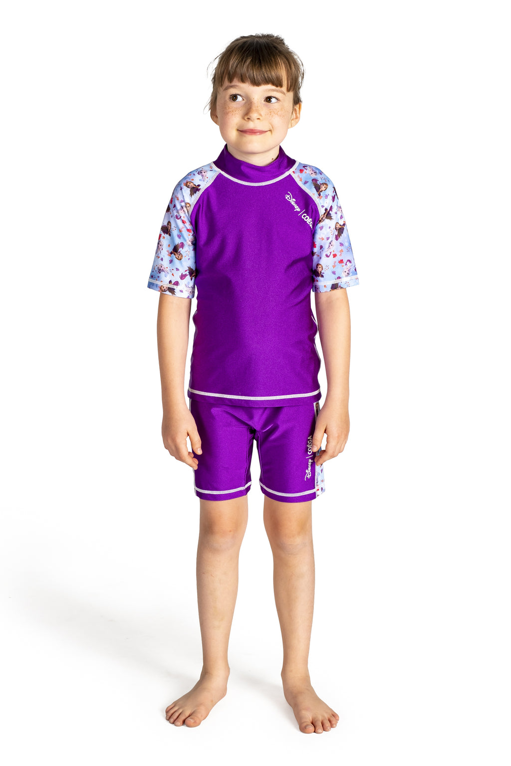 COEGA Disney Girls Kids Swim Suit - Two Piece