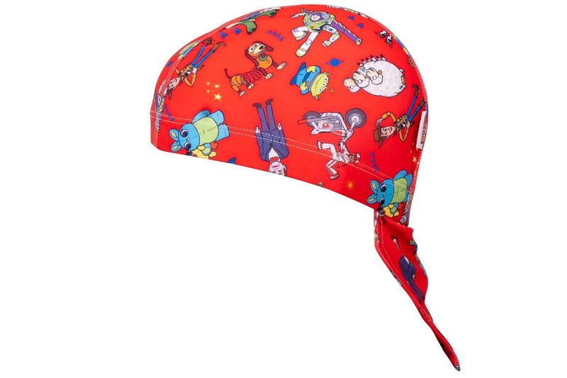 Coega Disney Kids/youth Pool Hat Blue Toy Story Sun Protective Headwear