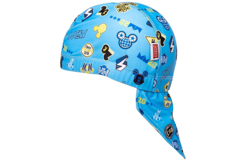 Coega Disney Kids/youth Pool Hat Deep Blue Mickey Sun Protective Headwear
