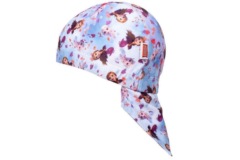Coega Disney Kids/youth Pool Hat Purple Frozen Sun Protective Headwear