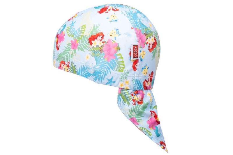 Coega Disney Kids/youth Pool Hat Pink Little Mermaid Sun Protective Headwear