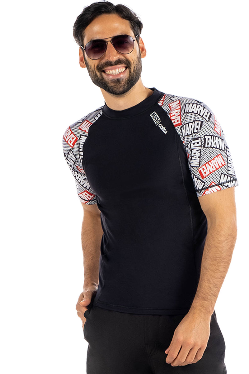COEGA Marvel Mens Rashguard - Short Sleeve