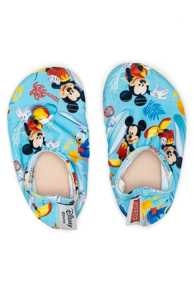 Coega Disney Baby Pool & Beach Shoes Teal Mickey Surf / Infant Ultra Light Shoes