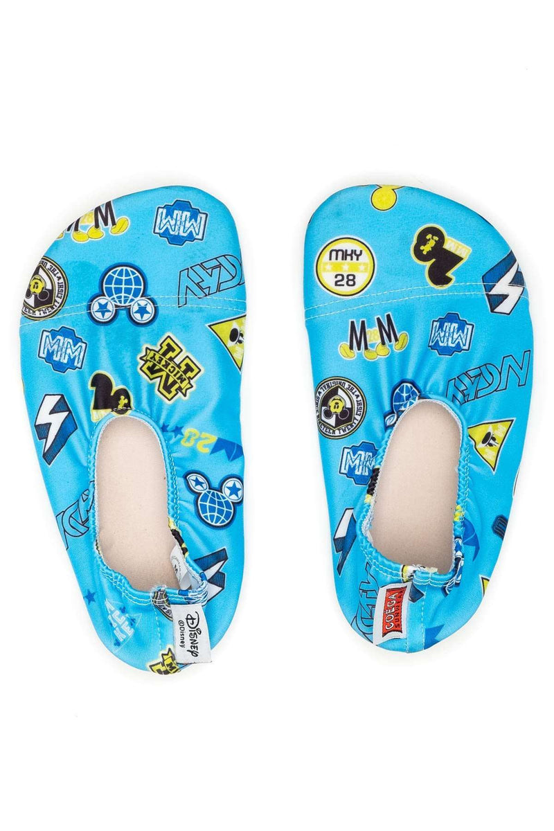 Coega Disney Youth Pool & Beach Shoes Deep Blue Mickey / M Ultra Light Footwear
