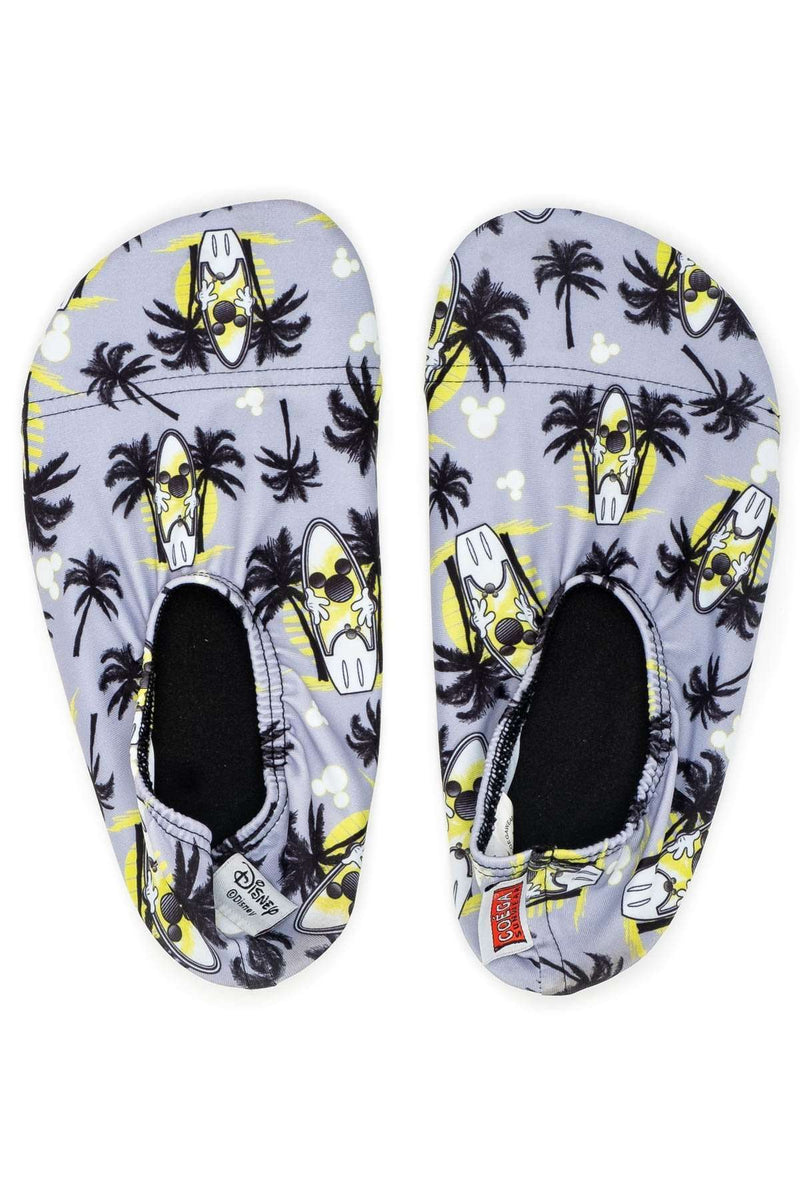 Coega Disney Youth Pool & Beach Shoes Grey Mickey / M Ultra Light Footwear
