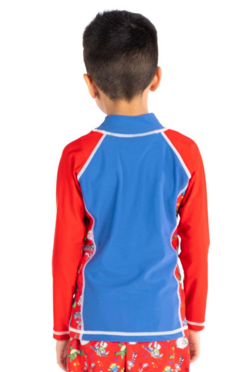 Coega Disney Boys Kids Rashguard - Long Sleeve Sun Protective Swimwear