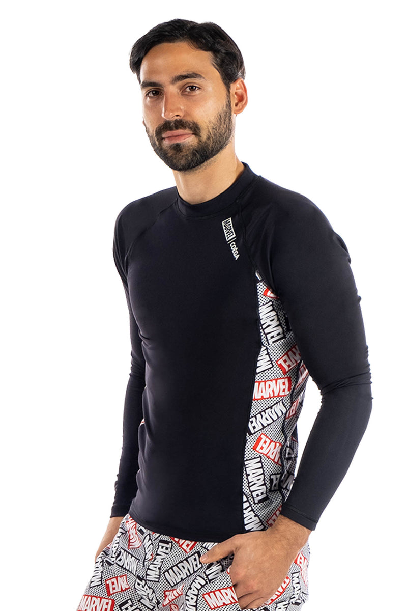 COEGA Marvel Mens Rashguard - Long Sleeve