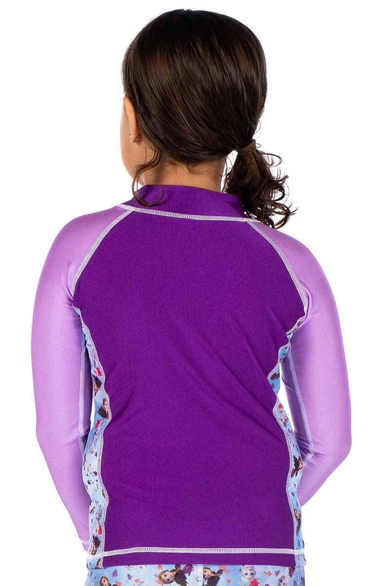 Coega Disney Girls Kids Rashguard - Long Sleeve Sun Protective Swimwear