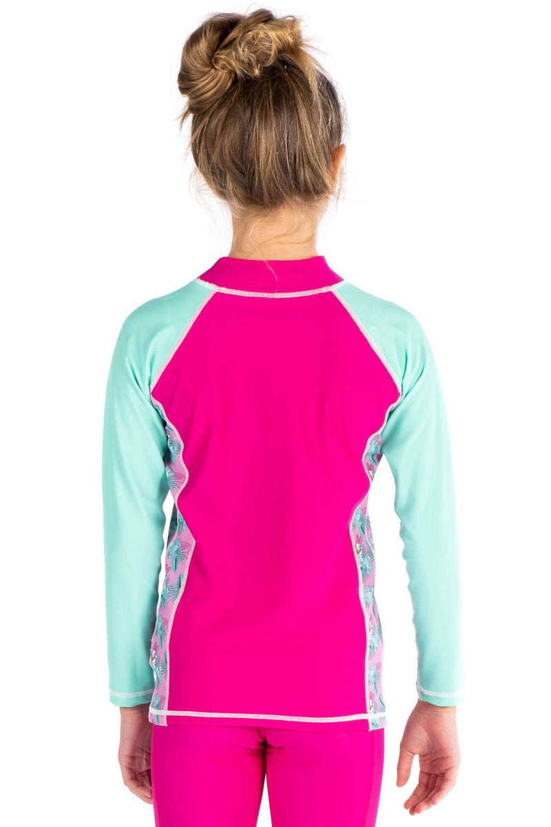 COEGA Disney Girls Youth Rashguard - Long Sleeve