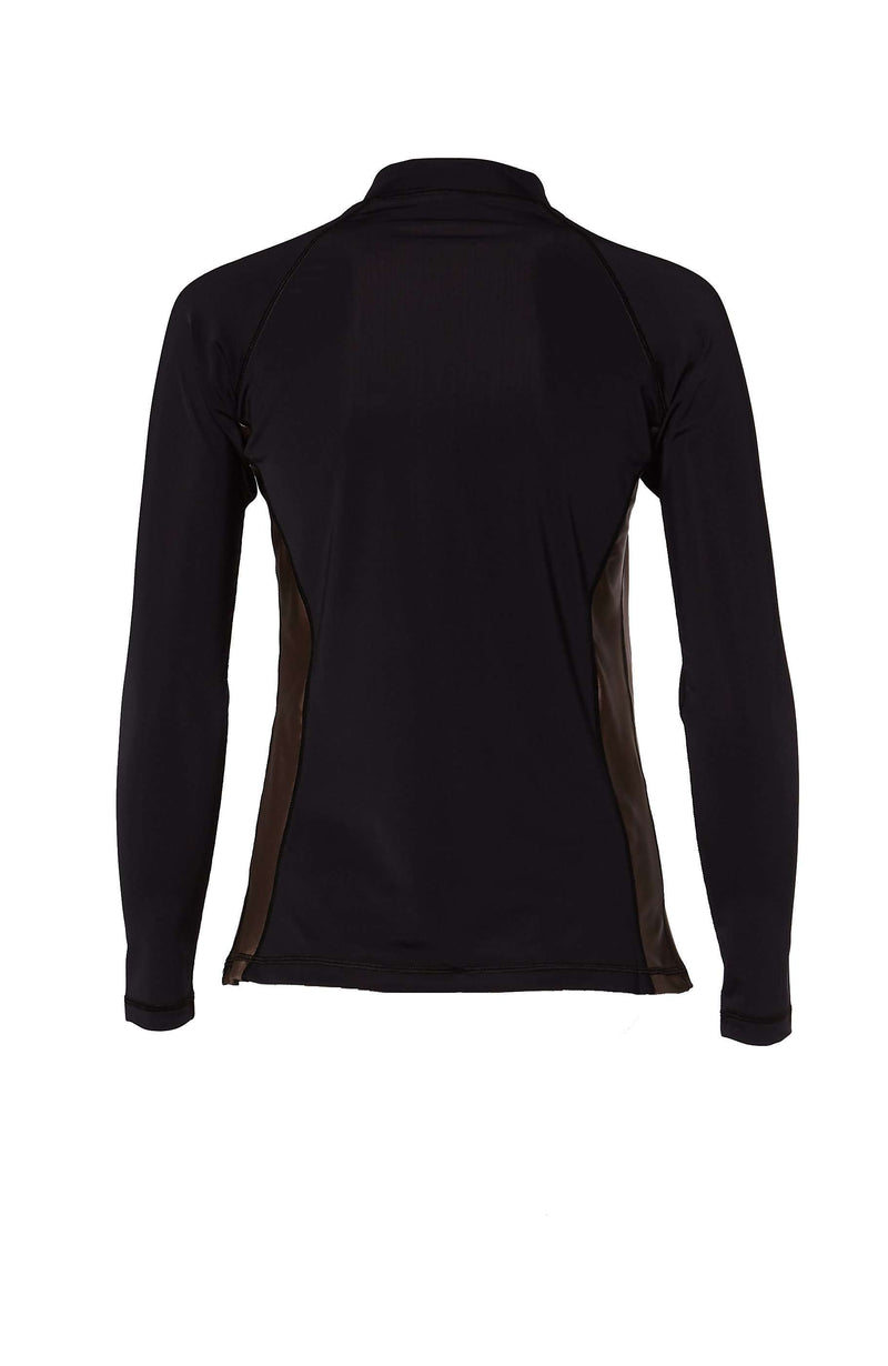 Coega Ladies Rashguard - Long Sleeve With Zip Sun Protective Swimwear