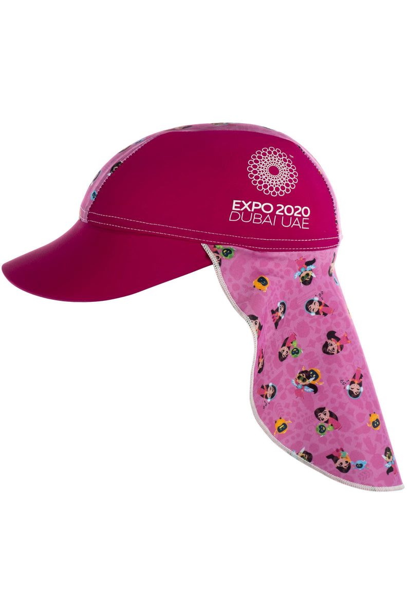 Expo 2020 Dubai Iconic Kids Flap Hat