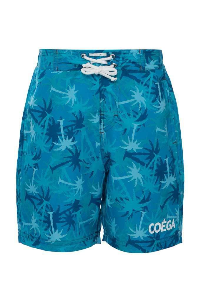 Teal Palm Trees / 10