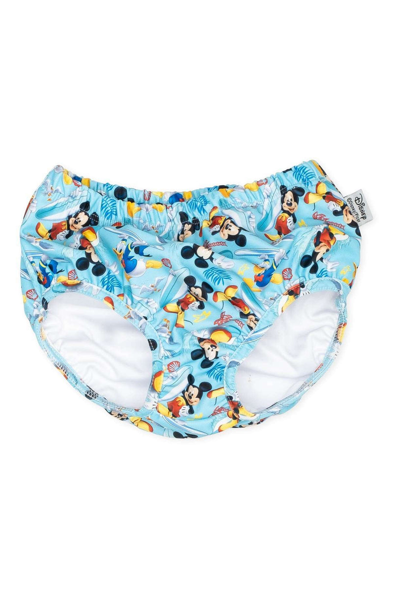 Coega Disney Boys Baby Swim Diaper Teal Mickey Surf / 12M Sun Protective Swimwear