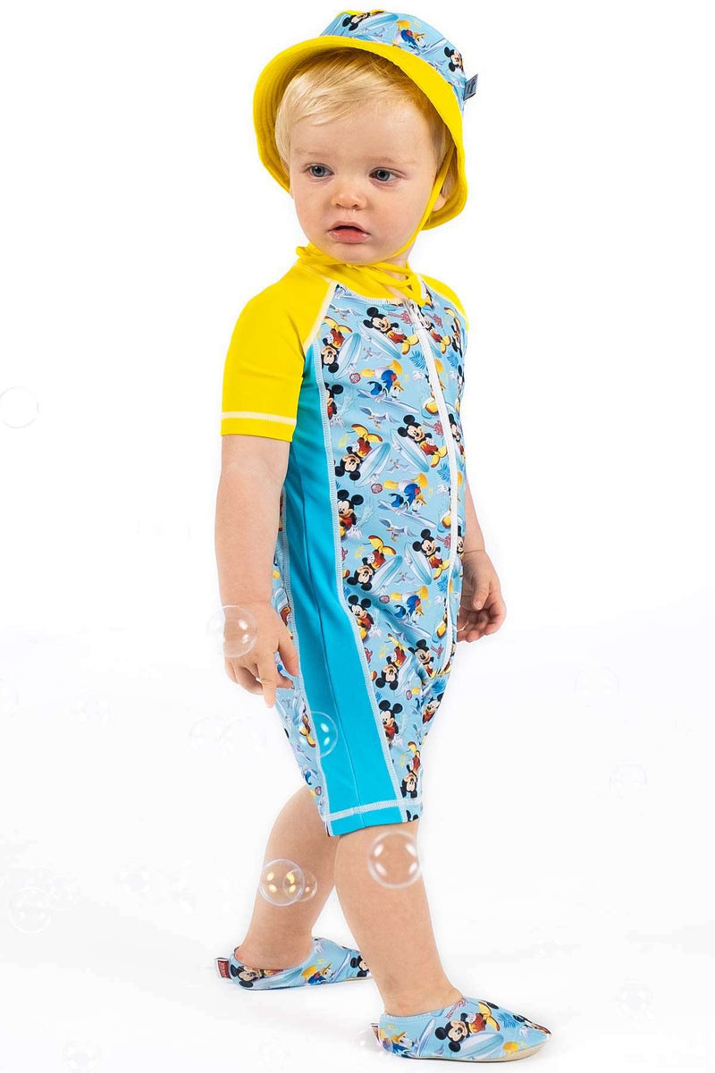 Coega Disney Boys Baby Swim Suit - One Piece Sun Protective Swimwear