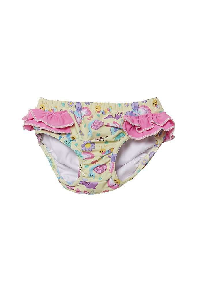 Coega Girls Baby Swim Diaper Purple Butterfly / 6M Sun Protective Swimwear