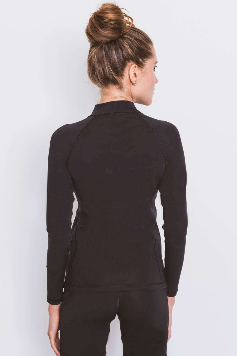 COEGA Ladies Rashguard - Long Sleeve with Full Zip