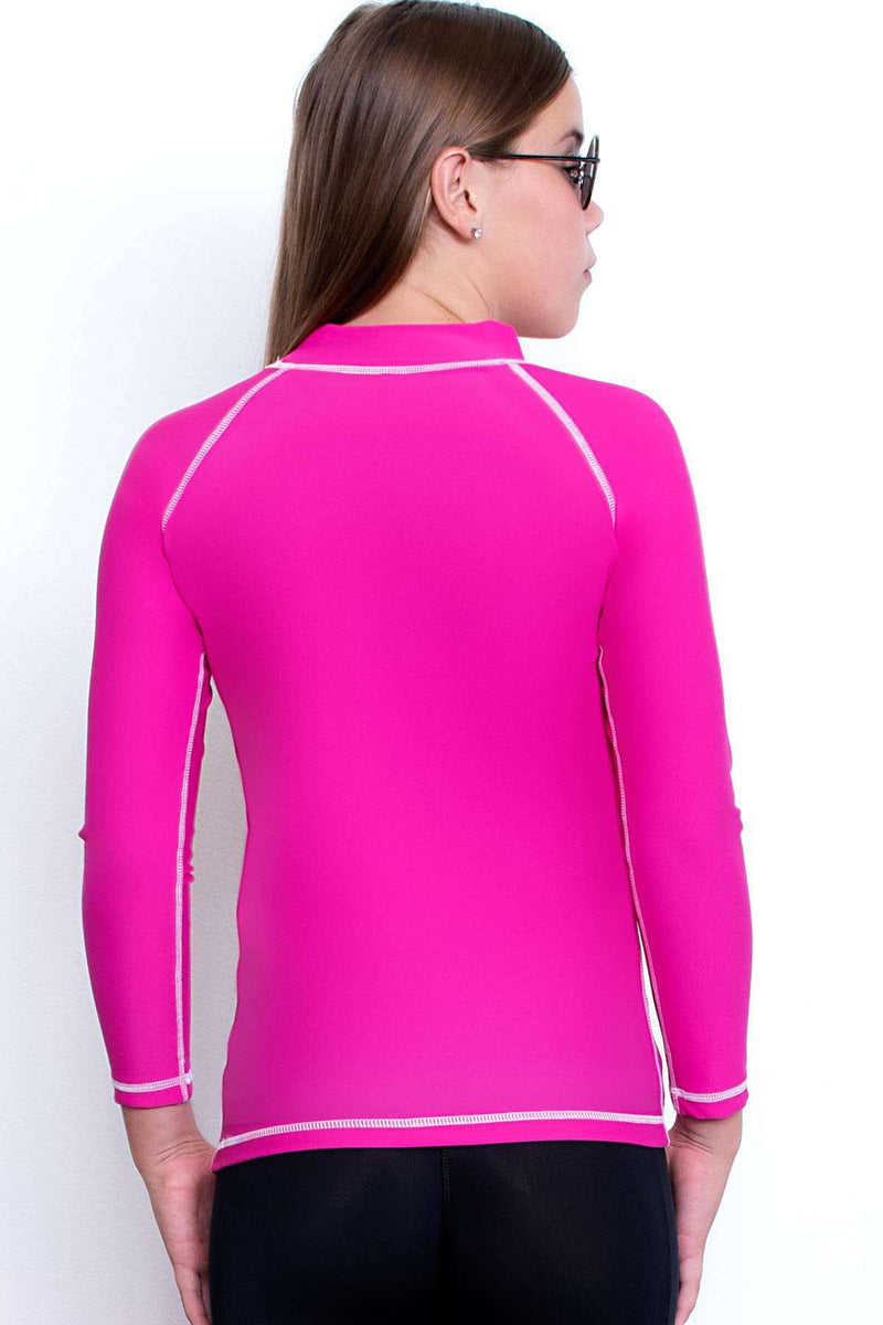 COEGA Girls Youth Rashguard - Long Sleeve